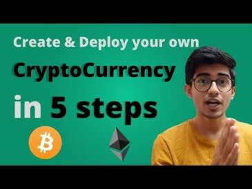Creating Your Own Cryptocurrency